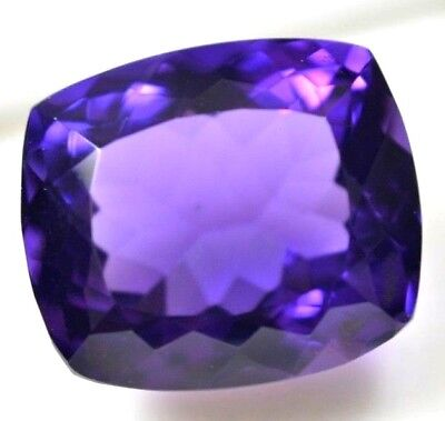 18.85 Ct 100% Natural African Purple Amethyst Superb Quality Gem AGSL Certified