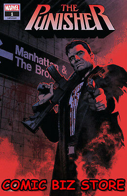 Punisher #1 (2018) 1St Printing Bagged & Boarded Marvel Comics ($4.99)
