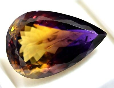47.45 Ct 100% Natural Yellow & Purple Ametrine AGSL Certified Superb Gem Stone