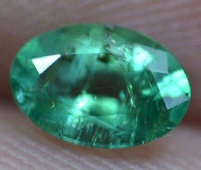 0.30 Ct 100% Natural Green Muzo Colombian Emerald AGSL Certified Loose Gem Stone