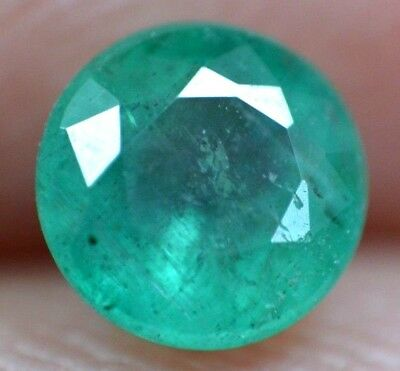 0.45 Ct 100% Natural Green Muzo Colombian Emerald AGSL Certified Loose Gem Stone