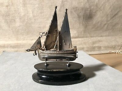 Solid Silver Ship