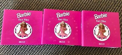 Vintage Barbie Fact Files Atlas Edition 1999