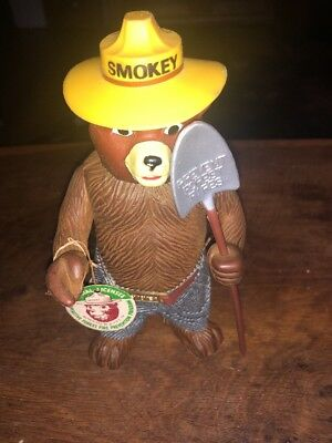 Vintage Smokey The Bear Figure