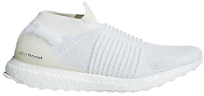 ccdaec835a053 Adidas Ultraboost Ultra Boost Men s Laceless White Running Shoe BB6146 Size  8