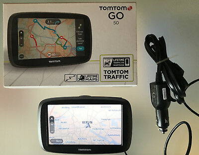 TomTom GO 50 Europe Traffic Navigationssystem (5 Zoll)