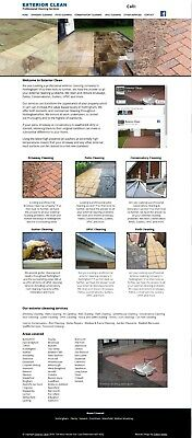 Driveway Cleaning Business for Sale, Leaflet Template & Website