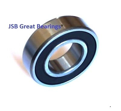 CERAMIC 440c Stainless Steel Ball Bearing MR126RS SMR126-2RS 6x12x4 mm QTY 2