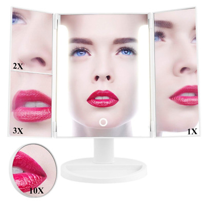 Cosmetic Makeup 36 LED, Touch Screen,180°Adjustable Vanity Mirror with Lights US