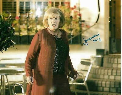 JACQUELINE KING - Doctor Who, 55 Degrees North, Doctors etc Signed 8 x 10 Pic