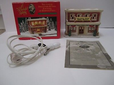 It's A Wonderful Life Gower Drugstore Soda Fountain from Target with COA