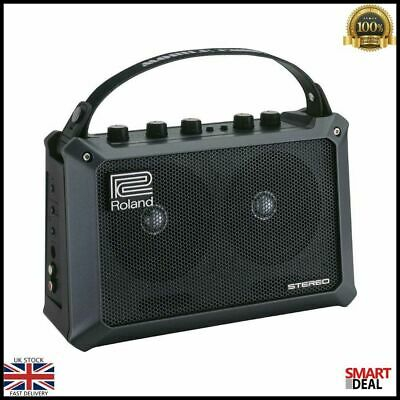 Roland Mobile Cube Battery Powered Amplifier Portable 5W Various Inputs Amp New