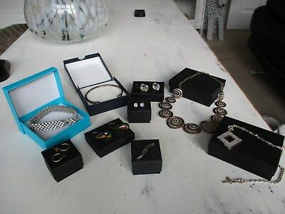 a large collection of sterling silver jewellery fully hallmarked unusual lot,,