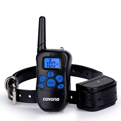 Dog Shock Collar with 330 Yards Remote Control,Waterproof and Rechargeable NEW