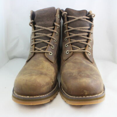 MEN'S TIMBERLAND 93584 Skhigh Rock Wheat LEATHER HIKING