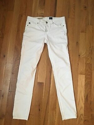 AG white jeans 25 good condition