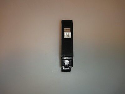 CH115 Cutler Hammer Type CH Circuit Breaker 1 Pole 15 Amp 240V METAL FOOT