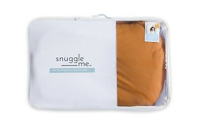 Snuggle Me Organic The Original Co-Sleeping Baby Bed Infant Ember Rust Cover