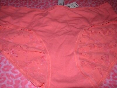 Victoria/'s Secret VS Ruched Back Hiphugger CHEETAH Heart Animal X-SMALL NEW