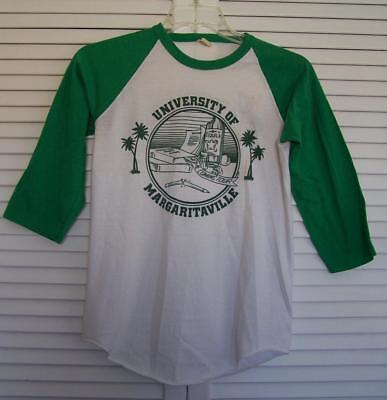 Vintage Rare Jimmy Buffet T-Shirt M 1982 Homecoming Tour Univ Of Margaritaville
