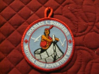Boy Scout, Charles L.Sommers boundry waters patch