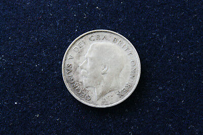 Great Britain England 1925  George V Shilling Silver!