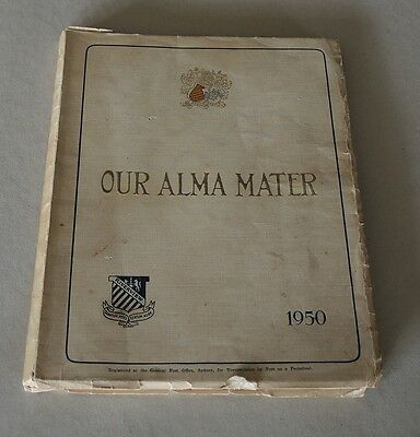 Our Alma Mater Riverview College Sydney Yearbook Magazine 1950 #10