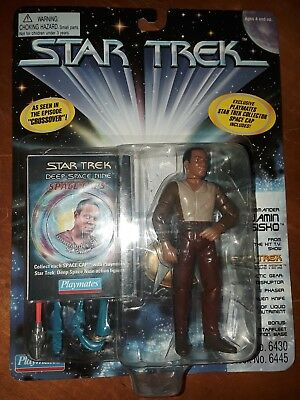 Star Trek Benjamin Sisko from Crossover playmates 1995 action figure