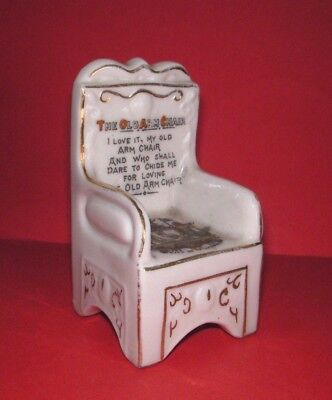 Carlton Crested China Old Arm Chair City of Liverpool Crest