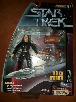Star Trek Warp Factor Series Keiko O'Brien DS9 playmates 1998 action figure