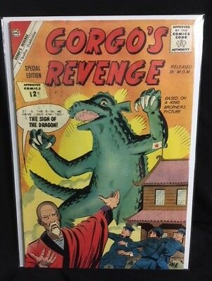 Gorgo's Gorgos Revenge #1 Very Good / Fine VG / FN (5.0) Charlton Comics 1962