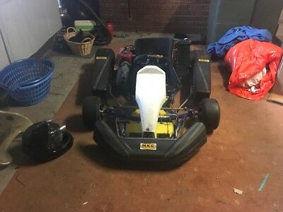 Go kart azzurro arc 100 water cooled