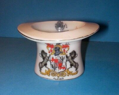 Arcadian Crested China  Coaching Hat  Alford Crest