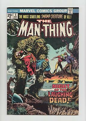 The Man-Thing #5 (Marvel 1974) VF 8.0