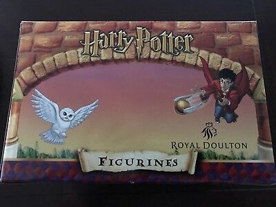 ROYAL DOULTON - HARRY POTTER Figurines - BNIB (Harry and owl)
