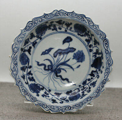 Stunning Antique Chinese Hand Painted Porcelain Plate Export Ware Early 1900s