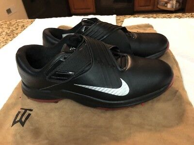 check out cf7fd 2d19d Nike TW 17 Tiger Woods Golf Shoes Black Red  200 881774-001 Mens 11.5 Wide