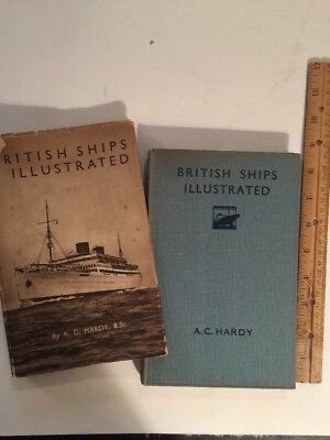 Book 1933 British Ships & Shipping Illustrated By A C HARDY