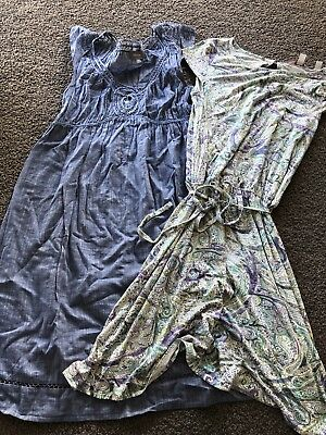 2 ladies summer dresses, Esprit and Sussan sz S and 10