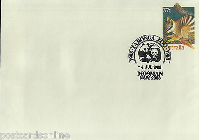 L1729cgt 1988 Australia NSW Mosman Taronga Zoo Pictorial Postmark on cover