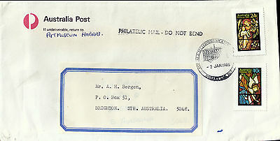 L2250cgt Australia 1985 Postal Telecomunications pmk on cover
