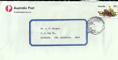 L2201cgt Australia Saint Patricks Race Club Broken Hill pmk on cover