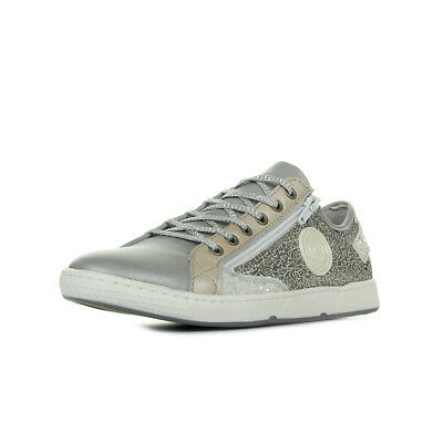 6eb2c7f253c Chaussures Baskets PATAUGAS femme JESTER F2D Multi taille Gris Grise Cuir  Lacets