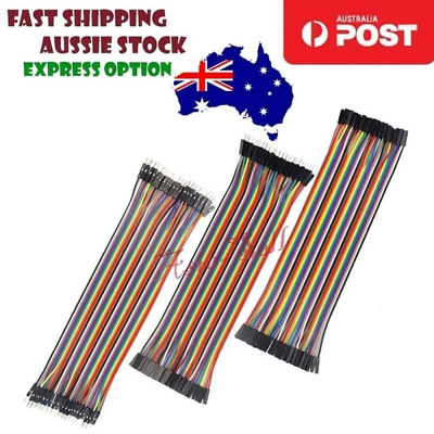 Dupont Jumper Line Set 20cm Male Female M-F M-M F-F Wire Cable Arduino - Asia Se