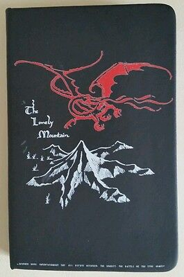 Carnet Le Hobbit The Lonely Mountain