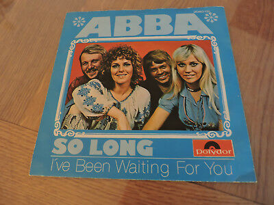 ABBA So long (Austria Pressung) Frida Agnetha 1975 7-inch