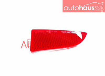 Bmw X3 2004-2010 Rear Bumper Cover Right Reflector Red New Genuine Oem