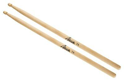 1 Paar XDrum 7A Ahorn Drumsticks Drum Sticks Trommel Stöcke Schlagzeug Wood Tip