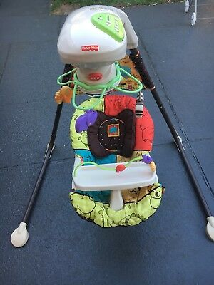 Fisher Price Zoo Cradle And Swing