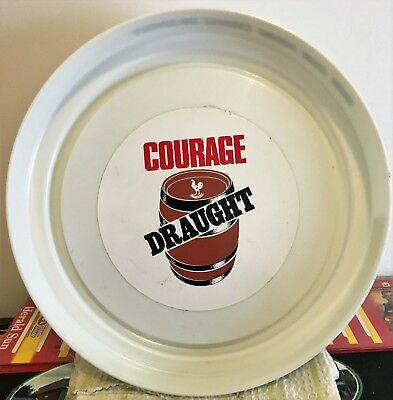 Old Courage Brewery Plastic Beer Drink Tray